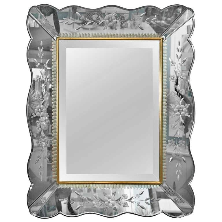 Inspiration about Vintage Venetian Style Mirror At 1Stdibs Pertaining To Venetian Style Mirrors (#4 of 30)