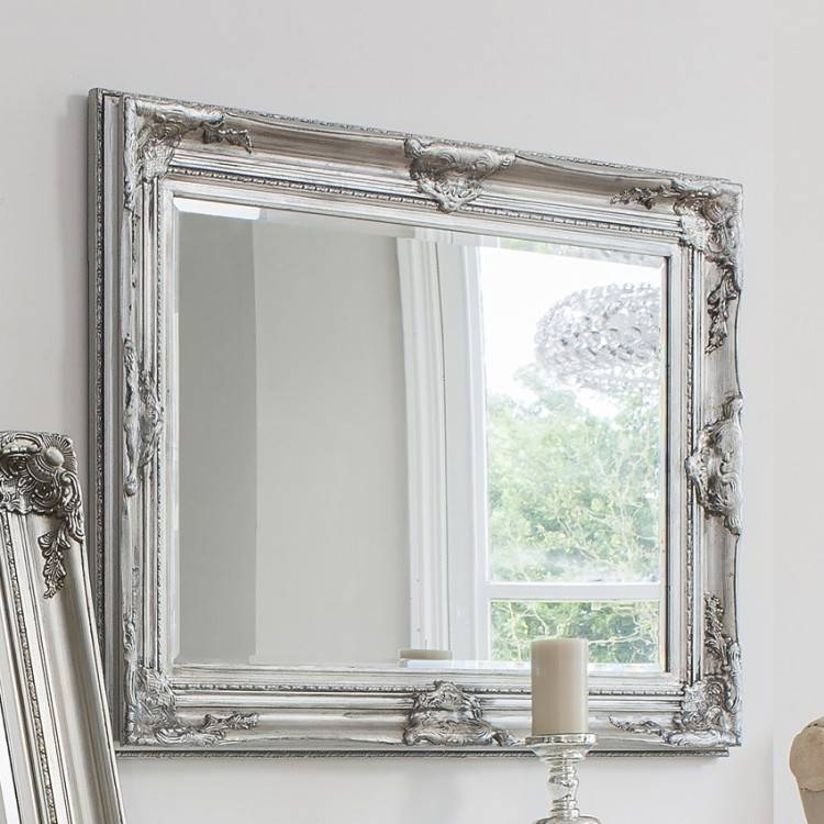 Inspiration about Vivaldi Baroque Mirror From £199 – Luxury Wall Mirrors | Ashden Road Pertaining To Silver Baroque Mirrors (#10 of 30)