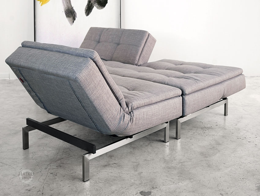 Vogue Convertible Sofabed And Lounge Chair Haiku Designs Intended For Sofa Lounger Beds (#15 of 15)