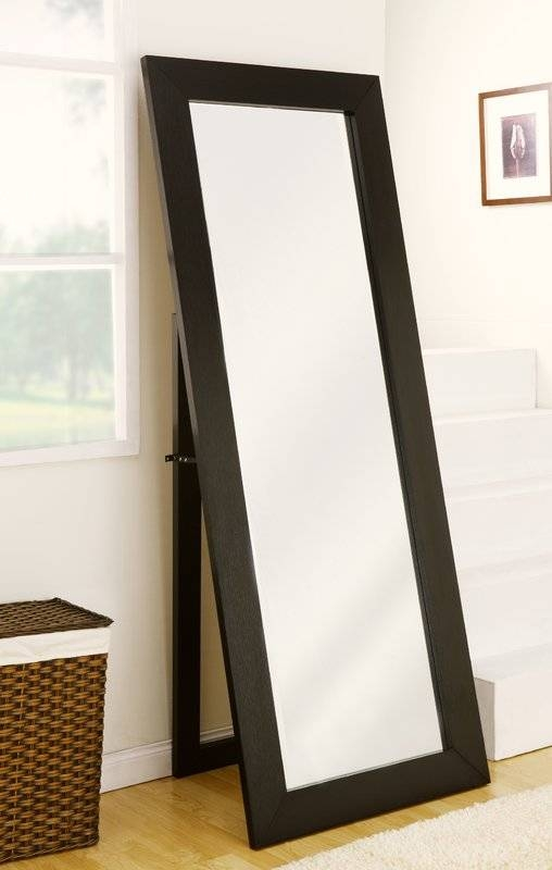 Wade Logan Mariano Freestanding Cheval Mirror & Reviews | Wayfair Within Cheval Free Standing Mirrors (#29 of 30)