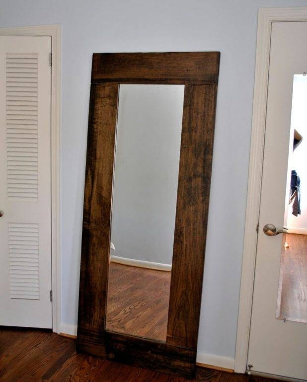 30 collection of large long mirrors for Large portrait mirror