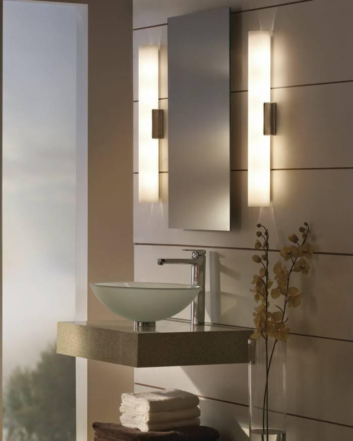 Wall Lights: Amusing Bathroom Mirror Lighting 2017 Design Amazon With Wall Light Mirrors (#29 of 30)