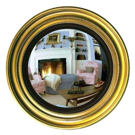 30 Collection Of Large Round Convex Mirrors