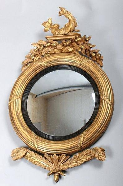 Wall Mirror ~ Convex Mirror Wall Art Convex Decorative Wall Within Large Round Convex Mirrors (#30 of 30)