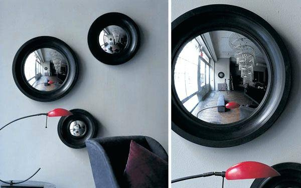 Wall Mirror ~ Large Round Decorative Wall Mirrors Small Round Intended For Round Convex Wall Mirrors (#29 of 30)