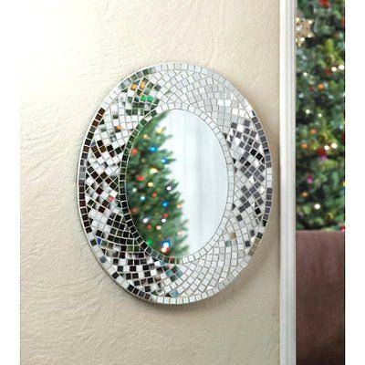 Wall Mirror ~ Large Sparkly Wall Mirror Large Sparkle Wall Mirror Throughout Glitter Wall Mirrors (View 11 of 30)