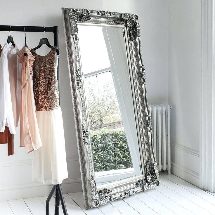 Wall Mirror ~ Plain Long Wall Mirrors Plain Wall Mirrors Sale With Regard To Long Silver Mirrors (#29 of 30)
