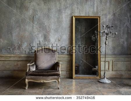 Wall Mirror Stock Images, Royalty Free Images & Vectors | Shutterstock Within Antique Round Mirrors For Walls (#19 of 20)