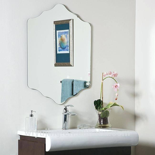 Wall Mirror ~ Unframed Wall Mirrors Unframed Wall Mirrors Uk Large In Unframed Wall Mirrors (#28 of 30)