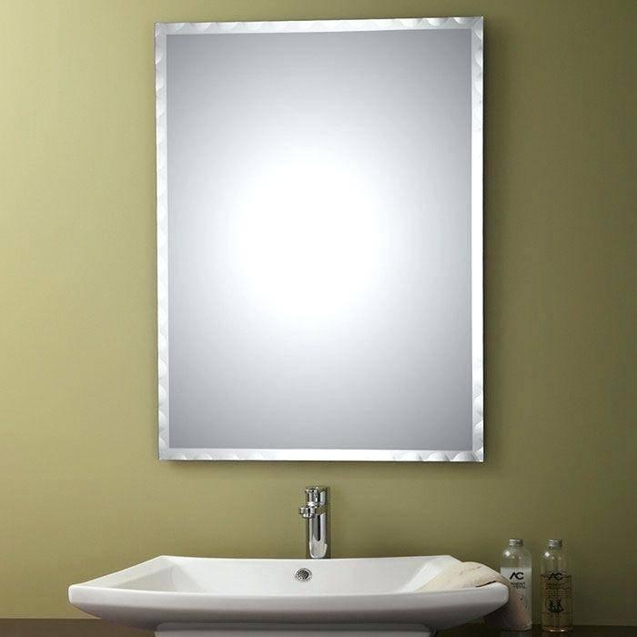 Wall Mirror ~ Unframed Wall Mirrors Unframed Wall Mirrors Uk Large Intended For Unframed Wall Mirrors (#29 of 30)