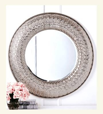 Wall Mirror ~ Unusual Wall Mirrors Unique Wall Mirrors Cheap Pertaining To Unusual Round Mirrors (View 19 of 20)