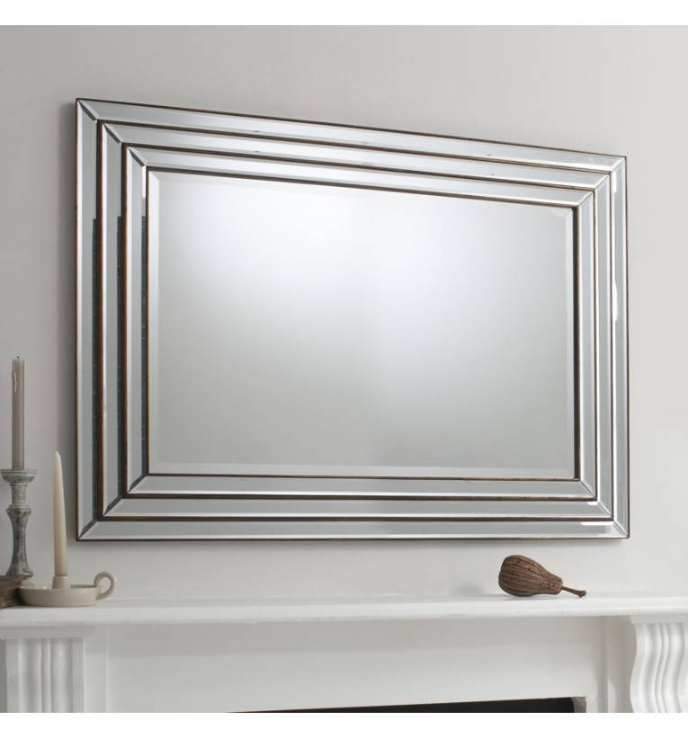 Wall Mirrors – Home Wall Art & Shelves Within Mantle Mirrors (#30 of 30)