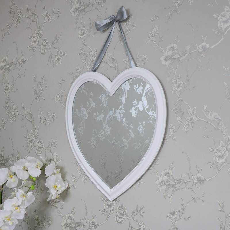 Wall Mirrors – Melody Maison® Intended For Large Heart Mirrors (View 14 of 15)