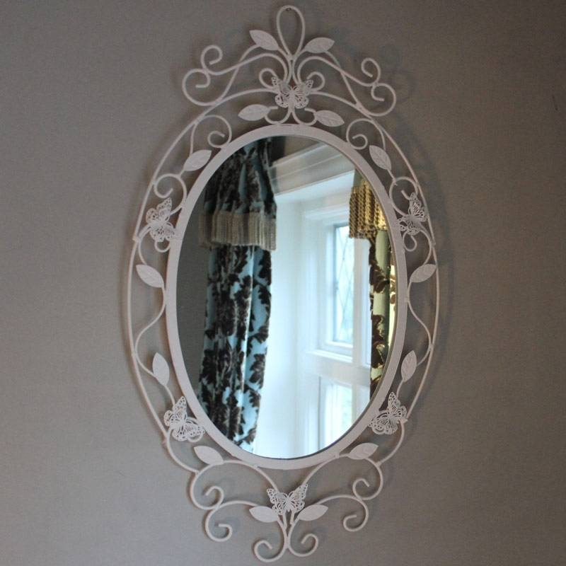 Wall Mirrors – Melody Maison® Intended For Oval Cream Mirrors (#28 of 30)