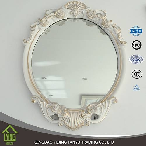 Wall Mirrors Wholesale Oval / Round Shape Wall Silver Mirror In Oval Shaped Wall Mirrors (#14 of 15)