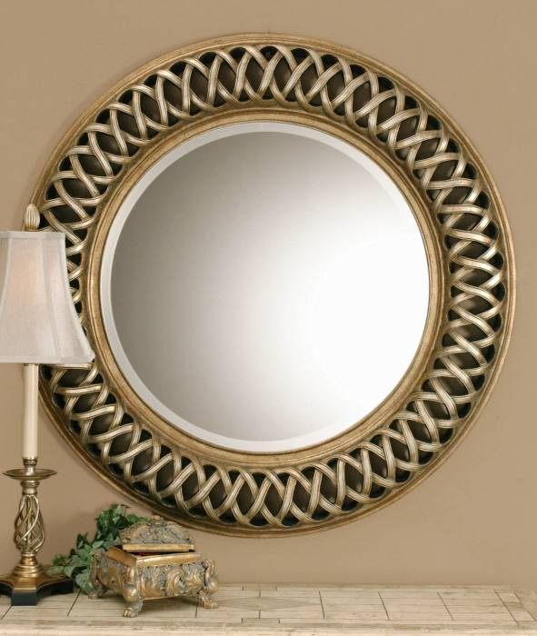 Popular Photo of Decorative Round Mirrors