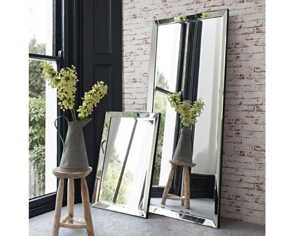 Wall Mounted Full Length Mirror : Home Wall Ideas – Full Length Throughout Beveled Full Length Mirrors (#20 of 20)