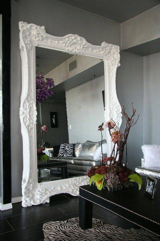 Wanted: Floor Length Mirror | Honey We're Home With Regard To Ornate Floor Length Mirrors (#30 of 30)