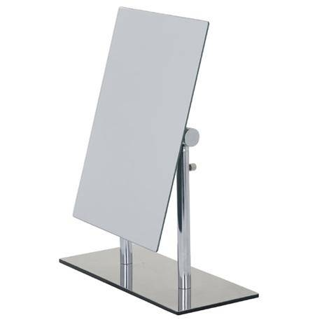 Wenko Pinerolo Standing Cosmetic Mirror – Chrome – 3656420100 At For Victorian Standing Mirrors (View 29 of 30)