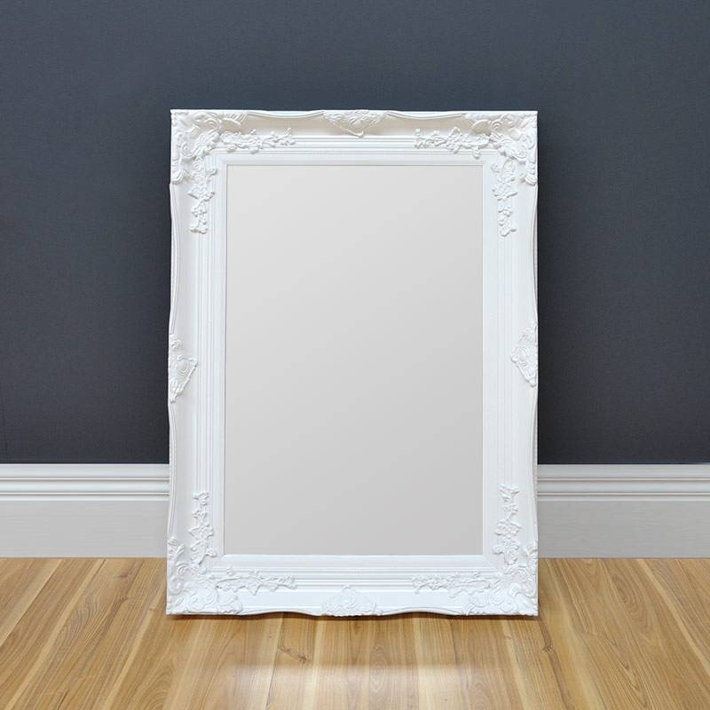 White Antique Mirror – Home & Abode In White Antique Mirrors (#19 of 20)