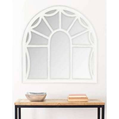 White – Arch/crowned Top – Wall Mirrors – Mirrors – The Home Depot Inside White Arch Mirrors (View 30 of 30)