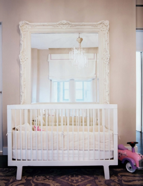 White Baroque Floor Mirror Design Ideas Regarding Baroque Floor Mirrors (#20 of 20)