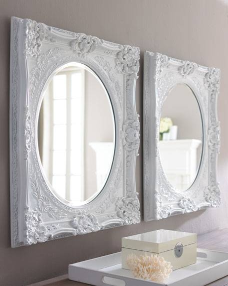 Inspiration about White Baroque Mirror With Regard To White Baroque Mirrors (#16 of 20)