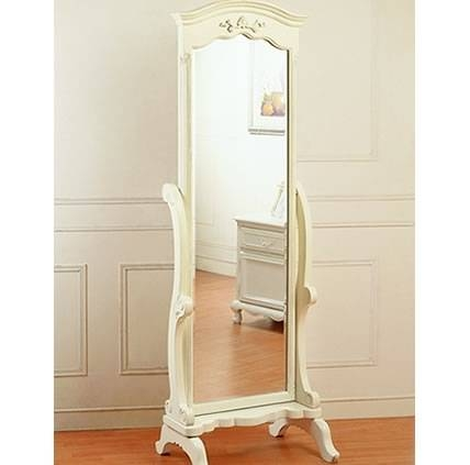 White Bedroom Mirrors || Vesmaeducation With Regard To French Style Full Length Mirrors (View 15 of 15)