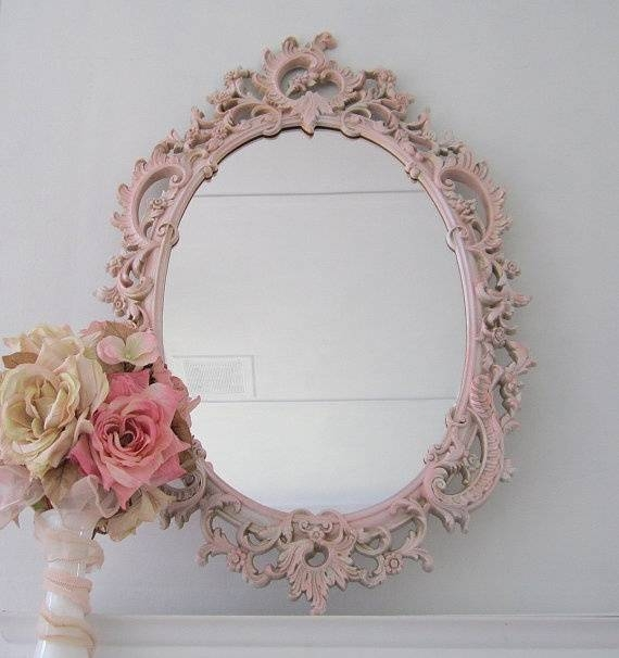 White Distressed Shabby Chic Mirror | Best Home Magazine Gallery Inside Shabby Chic Mirrors (#20 of 20)