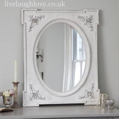 White Distressed Shabby Chic Mirror | Best Home Magazine Gallery Pertaining To Shabby Chic White Distressed Mirrors (#29 of 30)