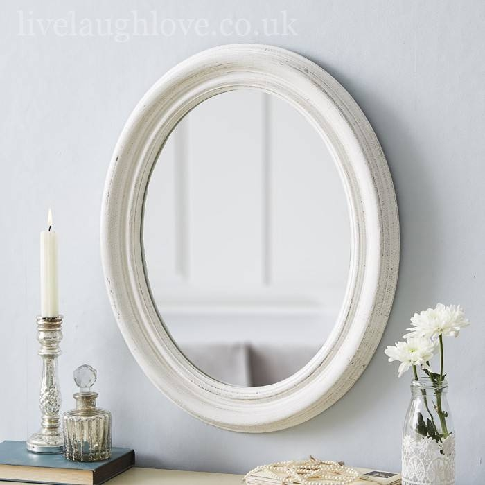 White Distressed Shabby Chic Mirror | Best Home Magazine Gallery Within Shabby Chic White Distressed Mirrors (#30 of 30)