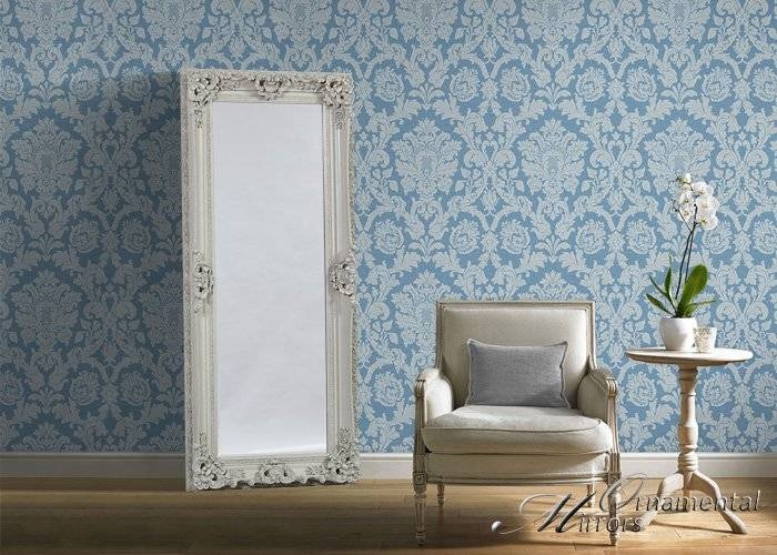 White Full Length Mirror With Regard To Full Length Ornate Mirrors (#29 of 30)
