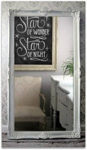 White Leaning Floor Mirror – Foter Pertaining To Shabby Chic Floor Mirrors (#20 of 20)