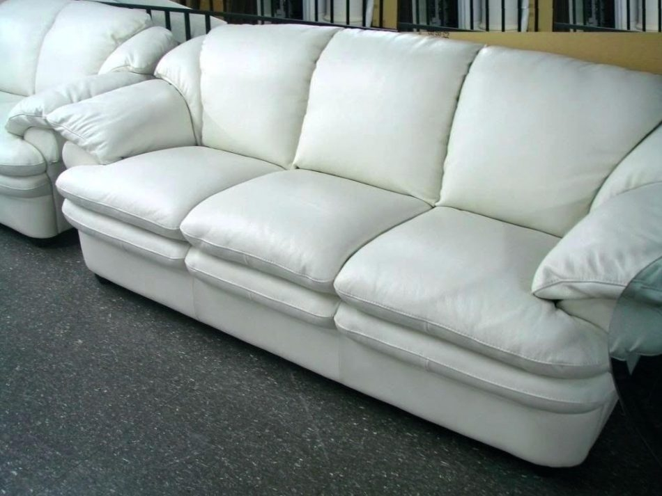 White Leather Sofa And Loveseat Lenspay Within Off White Leather Sofa And Loveseat (#15 of 15)