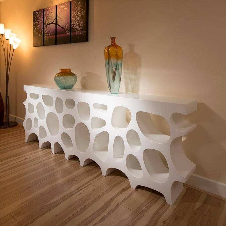 White Modern Sideboard : Lovely Modern Sideboard For Your Sweet Pertaining To White Modern Sideboard (#20 of 20)