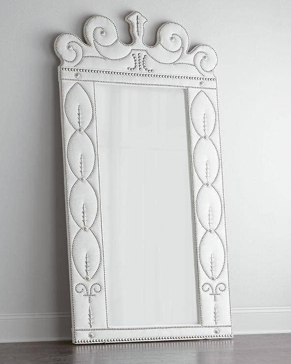 White Ornate Floor Mirror U2013 Products, Bookmarks, Design With Ornate White  Mirrors (#