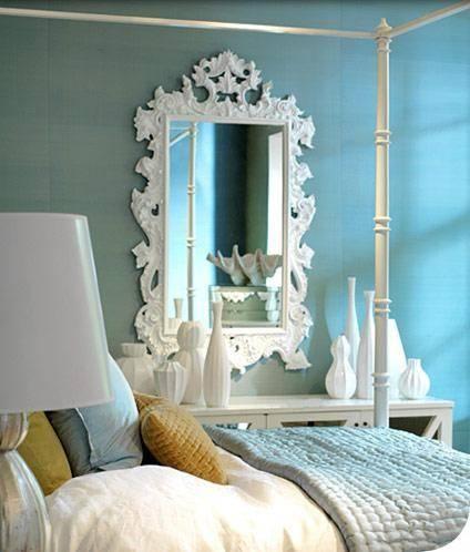 White Rococo Mirror Design Ideas In Large White Rococo Mirrors (#29 of 30)