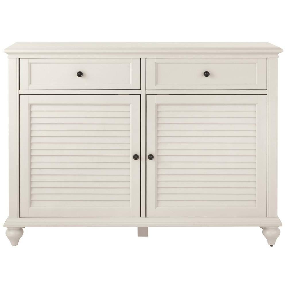 White – Sideboards & Buffets – Kitchen & Dining Room Furniture Regarding White Sideboards (View 7 of 20)