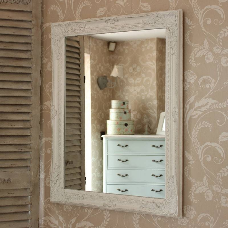 White Wall Mirror Ideas — Doherty House Intended For Large White Ornate Mirrors (#20 of 20)
