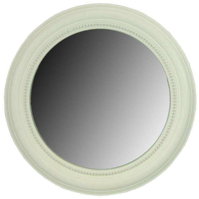 White Wash Round Beveled Framed Mirror | Hobby Lobby | 491415 For White Round Mirrors (#30 of 30)