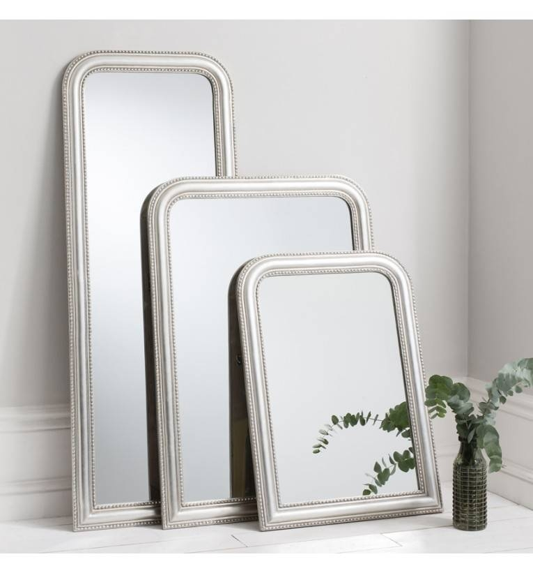 Willow Full Length Silver Mirror 147 X 56 Cm Willow Silver Mirror With Regard To Full Length Silver Mirrors (#20 of 20)