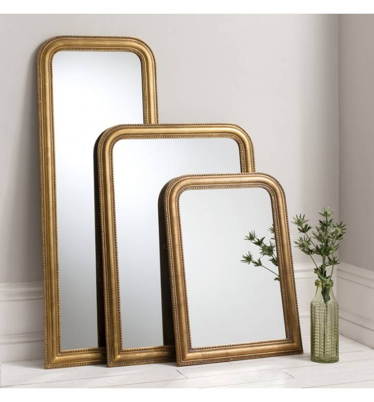 Willow Gold Full Length Mirror 147 X 56 Cm Willow Gold Mirror 147 Throughout Gold Full Length Mirrors (#30 of 30)