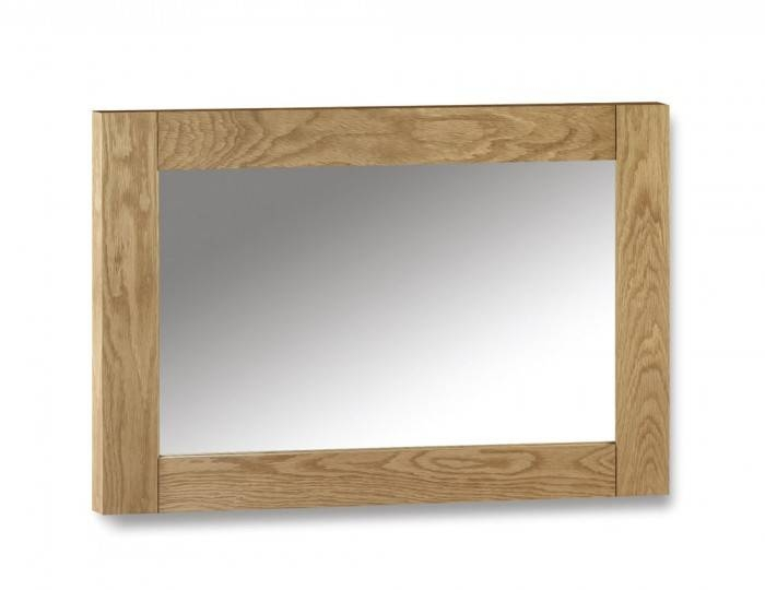 Wiltshire Oak Wall Mirror – Uk Delivery For Oak Wall Mirrors (#14 of 15)