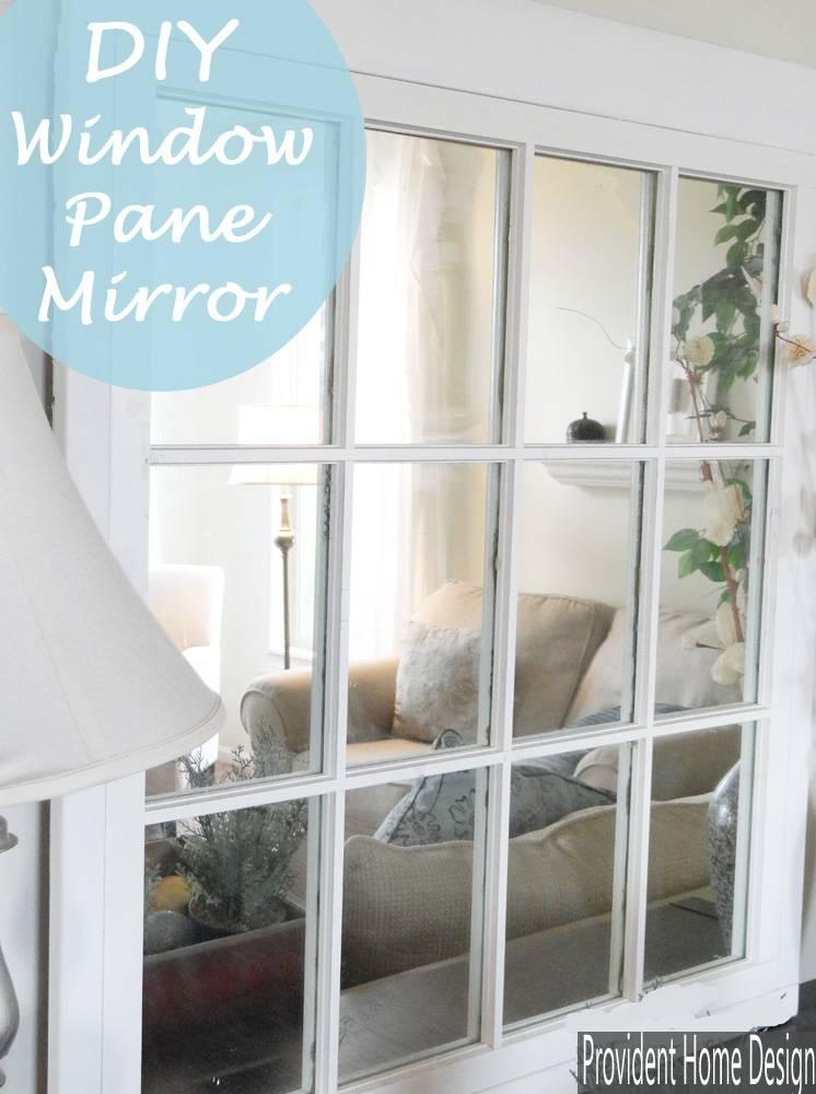 Window Pane Mirror Within Window Mirrors (#30 of 30)