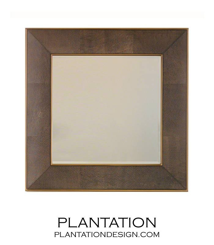 Winston Leather Wall Mirror | Plantation Throughout Leather Wall Mirrors (View 20 of 20)