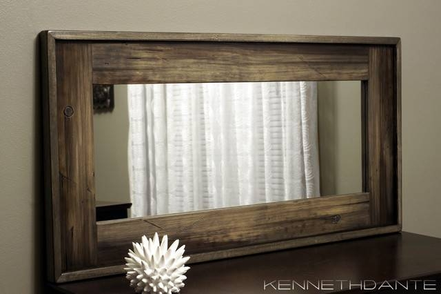 Wood Framed Mirrors: Sleek And Stylish – In Decors Within Wooden Mirrors (#26 of 30)