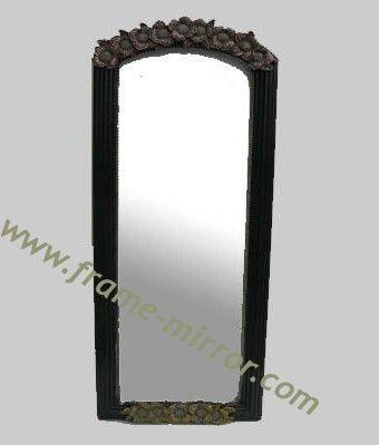 Wooden Ornate Free Standing Mirror,full Length Dressing Mirror Throughout Black Free Standing Mirrors (#29 of 30)