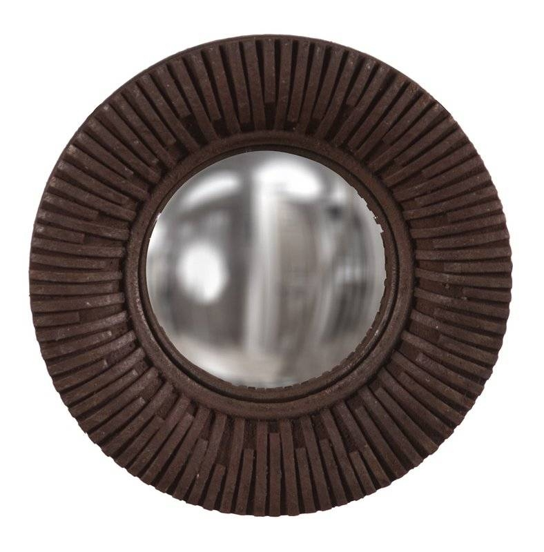 World Menagerie Arteaga Round Convex Wall Mirror | Wayfair Within Round Convex Wall Mirrors (#30 of 30)