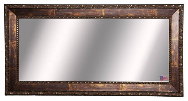 Woven Wall Mirror Bronze Bathroom Vanity Metal Coastal Decor Large With Regard To Bronze Wall Mirrors (#20 of 20)