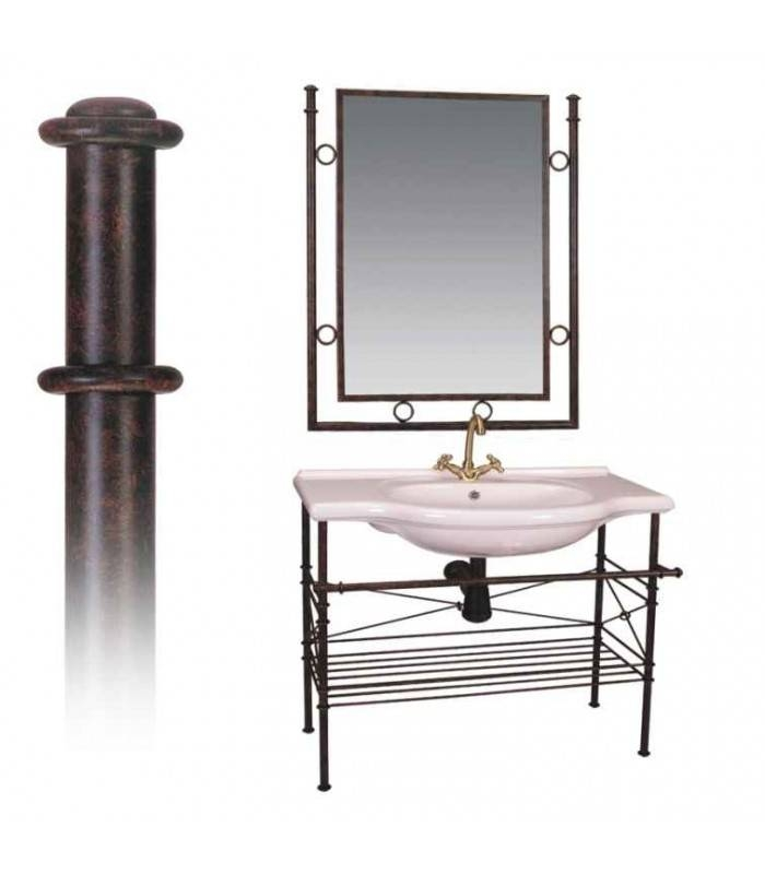 Wrought Iron Bathroom Fixtures. Leaf Toilet Paper Holder (#27 of 30)